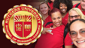 Give a Rutgers School of Nursing-Camden Pin