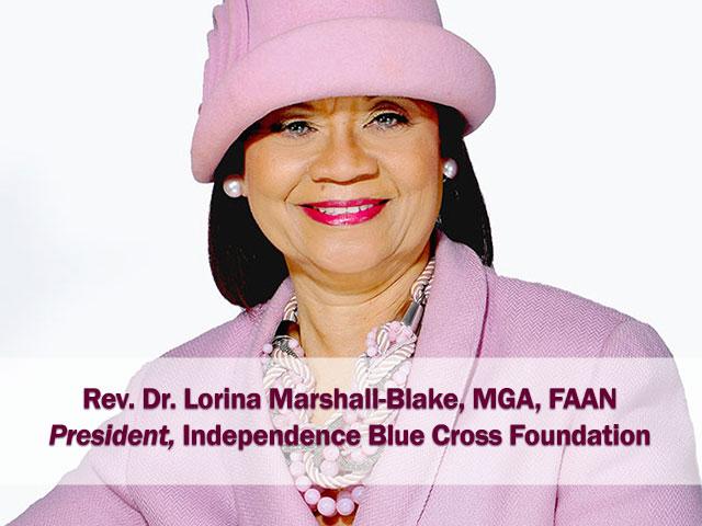 Rev. Dr. Lorina Marshall-Blake, Distinguished Lecturer 2019