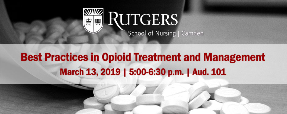 Best Practices in Opioid Treatment and Management