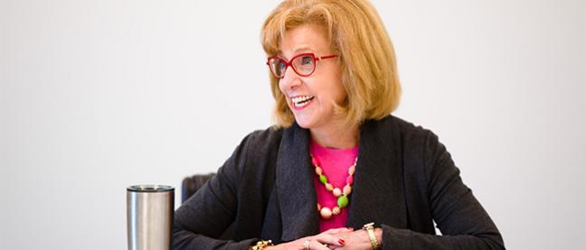 Rutgers School of Nursing–Camden Dean Donna M. Nickitas
