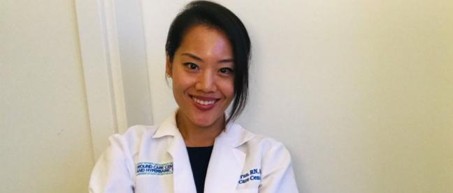 Yun Michelle, Graduate of Wound Ostomy Continence Nursing Education Program