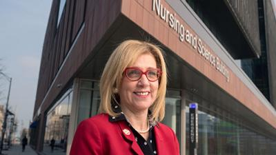 Rutgers University profiles its newest faculty, including Dean Donna Nickitas
