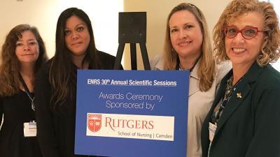 Support Rutgers School of Nursing Camden at ENRS 2018