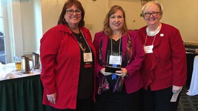 Dr. Nancy Pontes Receives ONL N.J. 2018 Innovation Award