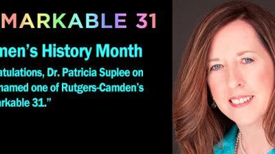Rutgers School of Nursing—Camden Associate Professor Patricia Suplee