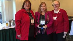 Dr. Nancy Pontes Receives ONL N.J. 2018 Innovation Award